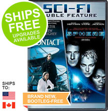 Contact / Sphere (DVD, 2007) NEW, Sealed, Jodie Foster, Dustin Hoffman