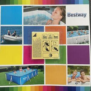 Bestway Reparaturset Flicken extra stark  für Pool Luftbett Reparatur 10 Stück