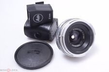 ✅ ZEISS CONTAREX 21MM 4.5 BIOGON MINTY* WIDE ANGLE LENS LEICA VIEWFINDER, FINDER