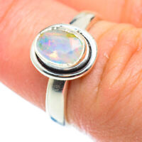 Ethiopian Opal 925 Sterling Silver Ring Size 6.5 Ana Co Jewelry R52317F