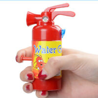 Mini fire extinguisher style squirt water gun toy practical joke creative  DD