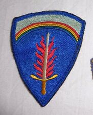 ARMY SHOULDER PATCH,SSI, US ARMY EUROPE USAEUR,.GERMAN OCCUPATION MADE