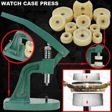 Quality Watch Case Back Closer Closing Press 12 Nylon Large Dies 18-50mm Tool