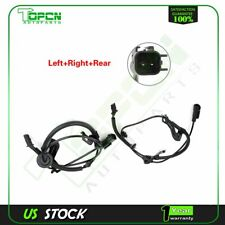 Set of 2 Abs Wheel Speed Sensor Rear For Jeep Patriot 2007 2008 2009 2010-2016