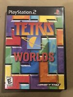 TETRIS WORLDS Playstation 2 PS2 COMPLETE Game Disc Case Manual