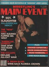 Wrestling's Main Event May 1985 Sgt.Slaughter Complete EX 120915DBE