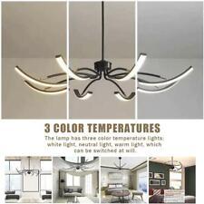 LED Deckenleuchte drehbar Dimmbar Lüster Wohnzimmer Lampe Kronleuchter Modern DE