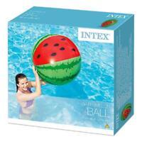 Intex Riese 107cm WasserMelone Sommer Strand Ball Spielzeug
