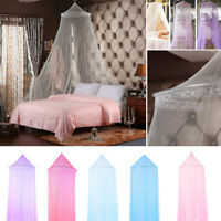 Round Hanging Mosquito  Net Curtains Bed Canopy Lace Princess Bedding Dome Tent