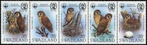 1982, Swaziland, 398-402 ZD, ** - 1681606
