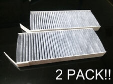 Charcoal activated cabin air filter for 2010 - 2012 Renault Latitude 2pack NEW!