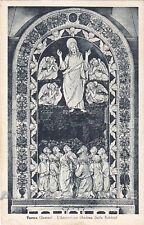 AREZZO CHIUSI DELLA VERNA 25 A. DELLA ROBBIA Cartolina viaggiata 1950 ALTEROCCA