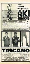 M- Publicité Advertising 1964 Les Vetements de ski Trigano