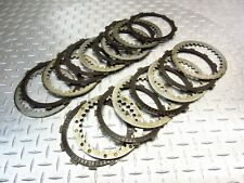 2000 95-00 Honda GL1500 Gold Wing Aspencade OEM Clutch Plates Steel Friction Set