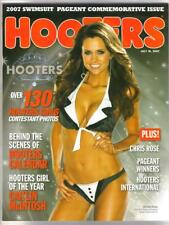 HOOTERS 2007 SWIMSUIT PAGEANT COMMEMORATIVE MAGAZINE