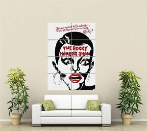 The Rocky Horror Picture Show Cult Musical Giant Picture Art Print Poster