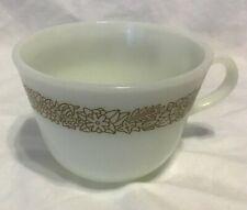 Vintage Pyrex Woodland Brown Cup Mug Coffee Tea
