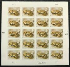 2009 Scott #4397 - 44¢ - WEDDING RINGS - Full Sheet of 20 Stamps - Mint NH
