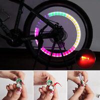 New Bicycle LED Lights Lamp Bike Car .Tire Wheel Cap Tire Decoration