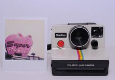 Polaroid SX-70 One Step Rainbow stripe working Film Tested Instant Land Camera