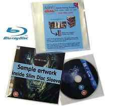 Slimdisc Bluray & Games Media Space Saving Cover Sleeve Storage System 500 Pack