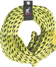 Tube Tow Rope 6 Rider 60ft. 6000lbs Super Strength Water Sports Boat Towing Line
