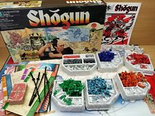 Vintage 1986 Shogun Board By Milton Bradley Game Good Condition 100% Complete