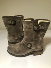 UGG Women's Dawna Winter Wedge Boots Brown Suede