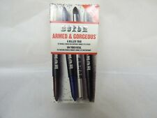 Bare Escentuals Buxom ARMED & DANGEROUS  waterproof Eye Sticks 6 colors + Brush