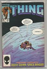 The Thing #22 , Vintage Marvel comic book from April 1985