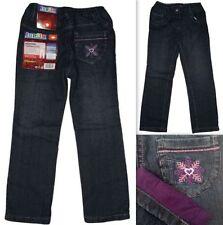 Jeans coupe classique/droite pour fille de 4 à 5 ans