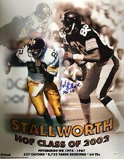 John Stallworth Pittsburgh Steelers (HOF 2002) Signed 16x20 Photo JSA