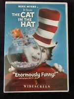 Dr. Seuss The Cat in the Hat (DVD, 2004, Widescreen Edition) New / Sealed