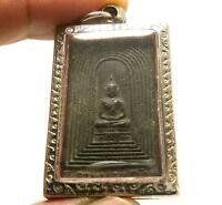PHRA SOMDEJ KAMPANG KAEW THAI POWERFUL MAGIC BUDDHA AMULET REAL BUDDHIST PENDANT