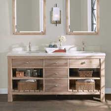 "Elbe Rustic 72"" Double Sink Vanity By Northridge Home"