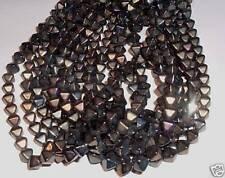 AL1048 CZECH 6mm Glass BICONE Beads-IRIS BROWN (50)