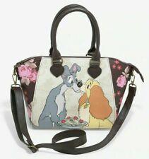 Loungefly Disney Lady And The Tramp Satchel Bag Purse Handbag