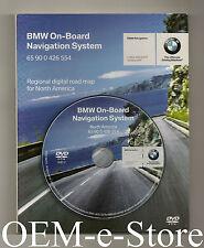 2003 2004 2005 2006 2007 2008 BMW X3 Z4 Navigation DVD Map U.S Canada V.2007.2