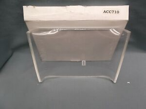 ACC710 trophy parts 7 x 10  acrylic blank crescent