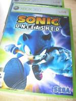 Sonic Unleashed (Xbox 360, new in seal sealed PAL Free Shipping Worldwide)