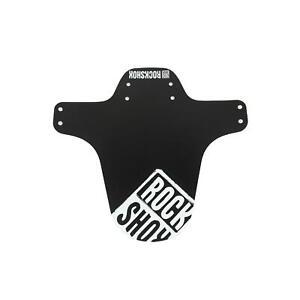 RockShox MTB Mountain Bicycle Bike Fender White Distressed Logo Print Universal