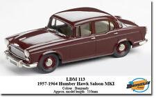Lansdowne Humber Diecast Cars