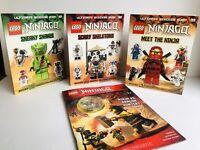 Ninjago Ultimate Sticker Book Lot, RARE! Ninja Vs Dragon Hunters Figurine NEW!
