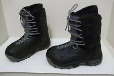 MENS OXYGEN CALIBER BLACK SNOWBOARD BOOTS SZ 8