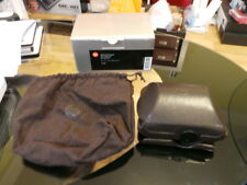 LEICA 18722 GENUINE LEICA D-LUX 4/5/6 D-LUX LEATHER CASE & STRAP (USE HAND GRIP)