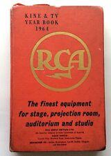 KINE & TV YEAR BOOK 1964  - ORIGINAL CINEMA INDUSTRY ITEM