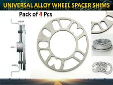 4 X 5mm Universal Cars ALUMINUM Alloy Wheel Spacers Shims 4 and 5 Studs Fit