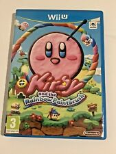 Kirby and the Rainbow Paintbrush (Nintendo Wii U) UK GAME VGC *FREE UK POST*