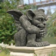 Historic Medieval Gothi 00004000 c Gargoyle Statue Aged Weathered Finish Sculpture