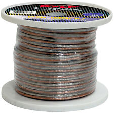 NEW Pyle PSC18500 18 Gauge 500 ft. Spool of High Quality Speaker Zip Wire